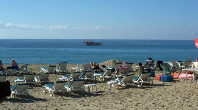 Alanya Damlataş Plajı