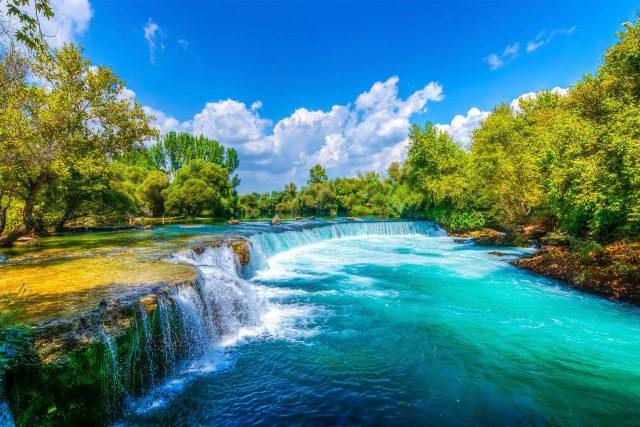 Antalya' daki Şelaleler