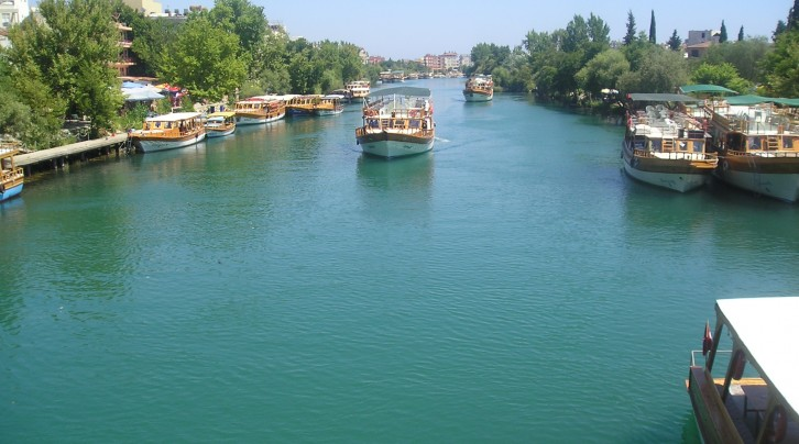 Antalya' daki Akarsular