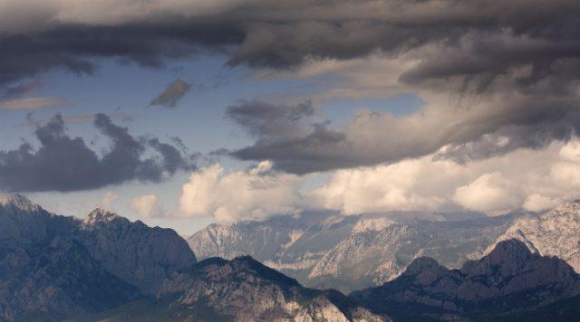 Antalya' daki Dağlar