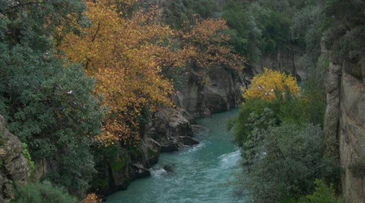 Antalya' daki Kanyonlar