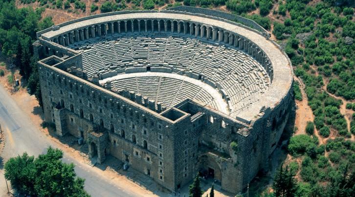 Antik Aspendos Tiyatrosu
