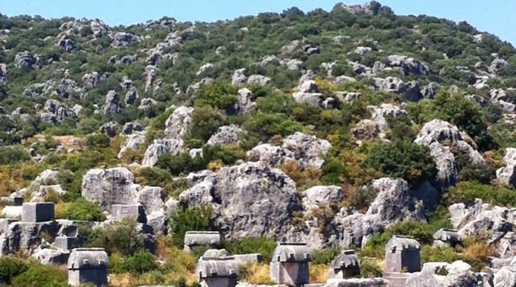 Dolichiste ( Kekova ) Antik Kenti