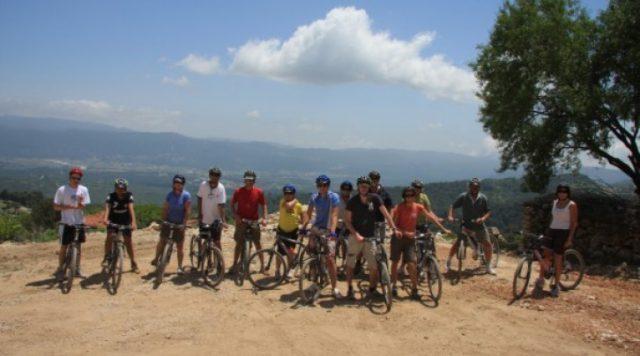 Kaş Bisiklet Binme Turu