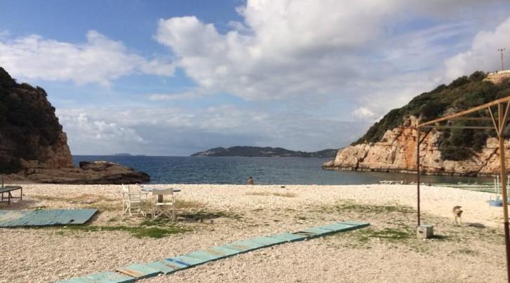 Kaş Büyük Çakıl Plajı