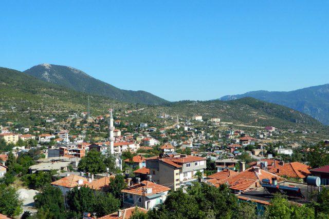 Antalya' nın Gündoğmuş İlçesi