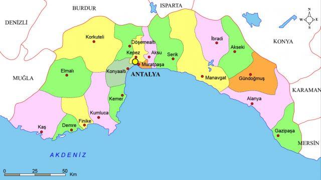 Antalya İlçeleri